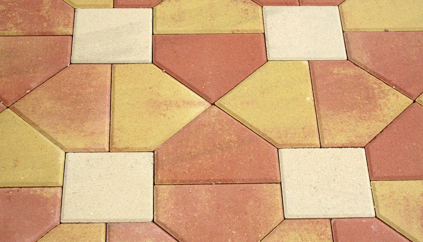 coloured-paving